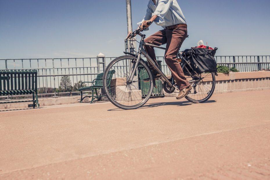 Woon-werkverkeer fiets e-bike